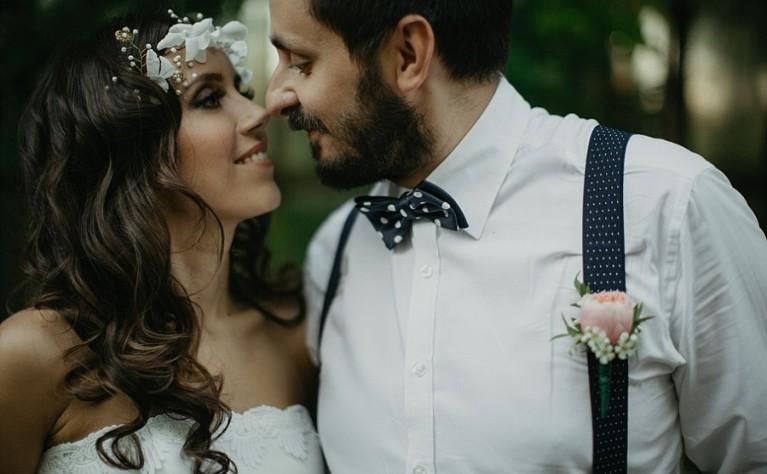 Sesja ślubna w stylu Boho - Dorota i Paweł - Opuszczona Szklarnia
