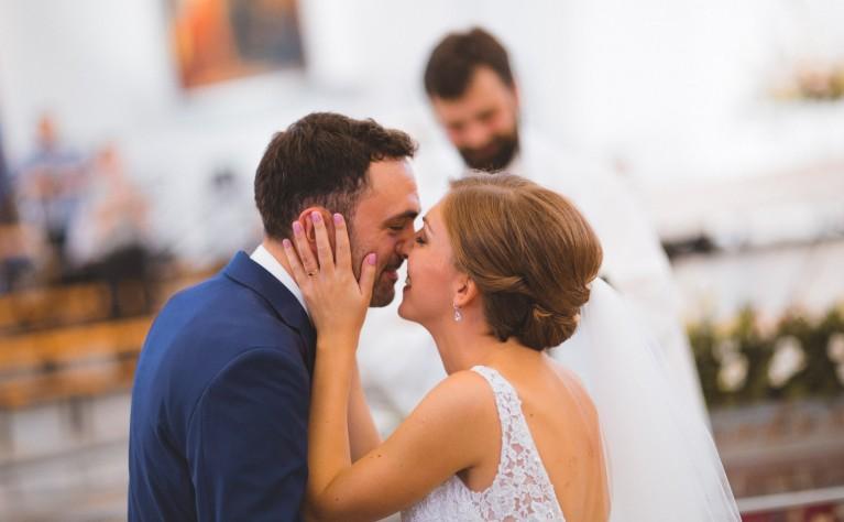 Magda & Colin - Vive l'amour!!! klip ślubny, produkcja Studio Pstro