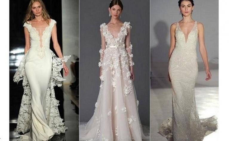 Wiosenne trendy w modzie ślubnej na 2017 rok