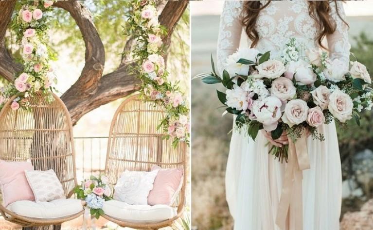 5 najmodniejszych kierunków florystycznych na ślub i wesele