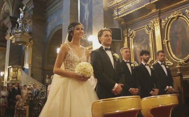 """Natalia i Tomek - """"You belong to Me"""", klip ślubny produkcji Czarodzieje Wspomnień"""