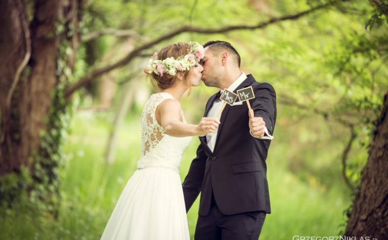 Paulina i Adrian - reportaż ślubny, fotografia: Grzegorz Niklas FOTO