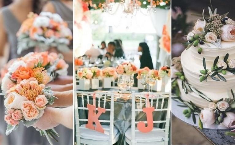 Top 10 idealnych połączeń szarości z innymi kolorami na ślubie