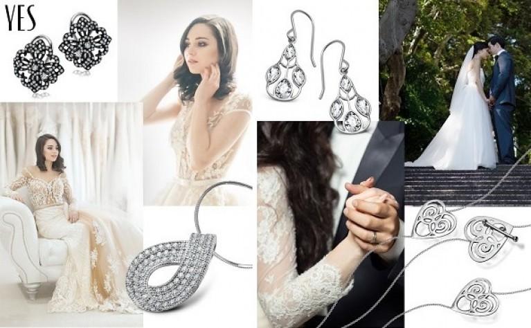 Biżuteria skrojona na miarę: jak dobrać biżuterię do stylizacji ślubnej?