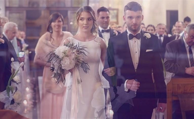Joanna I Przemysław Klip ślubny Produkcja T Film