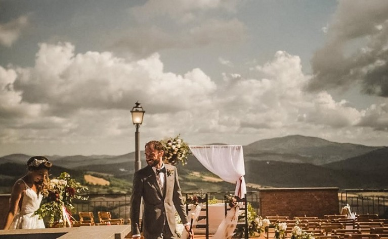 Alessandra & Diego - film ze ślubu w Toskanii, produkcja Super Weddings