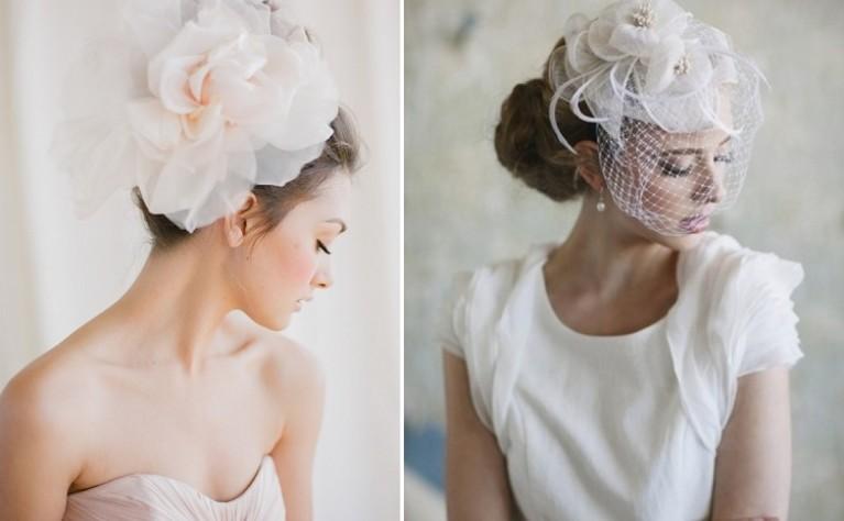 Fascynatory w stylizacji ślubnej