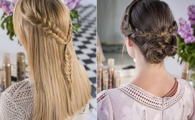 Najmodniejsze stylizacje fryzur z warkoczem