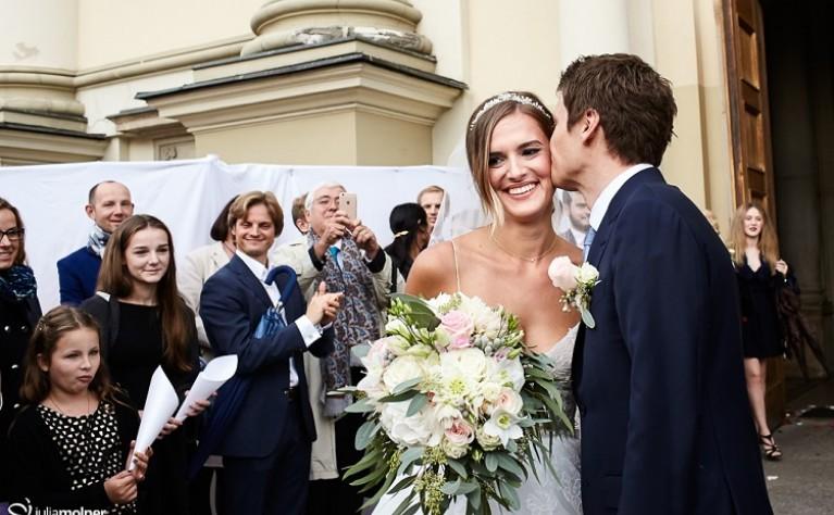Karolina & Mathieu - reportaż ślubny, fotografia: Julia Molner