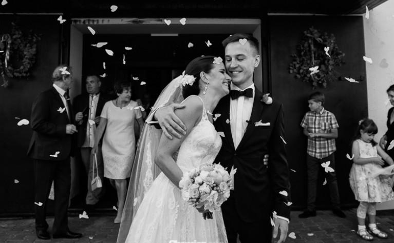 Iza i Hubert - reportaż ślubny, Fotografia: Cezary Chomicz