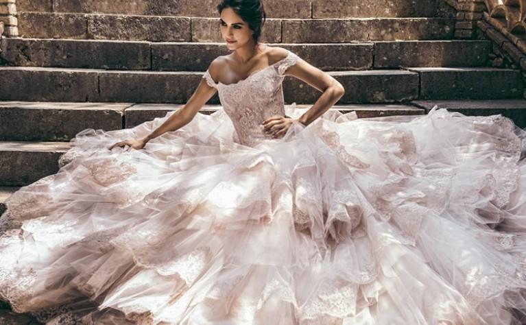 Princessa - klasyczna suknia ślubna dla księżniczek