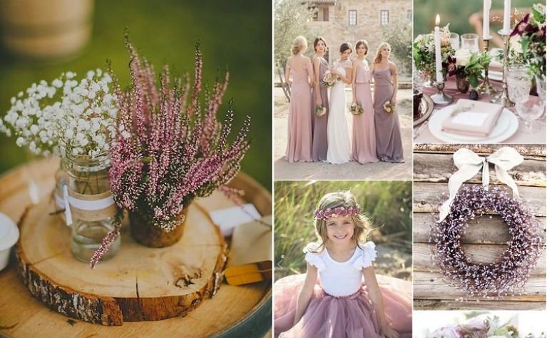 Wrzosy na weselu – najlepsze pomysły na ich wykorzystanie