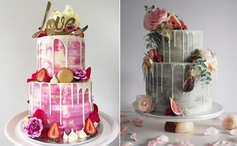 Tort weselny z polewą - najnowszy trend w deserach ślubnych
