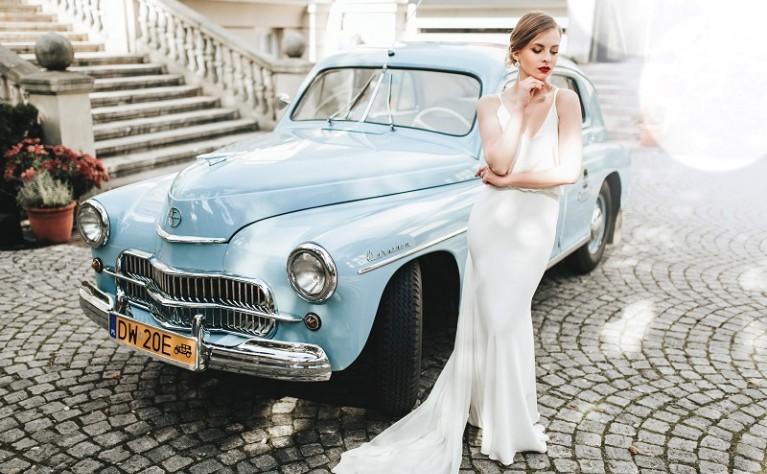 Z głową w chmurach, czyli ślub i wesele pod znakiem błękitu