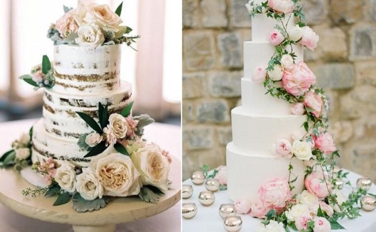 Wspaniały tort ślubny z kwiatami - jak go wybrać?