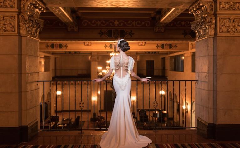 Ślubna stylizacja w duchu Hollywood Glamour