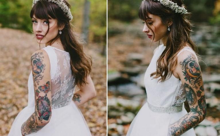 W jaki sposób zakryć tatuaż w dniu ślubu?