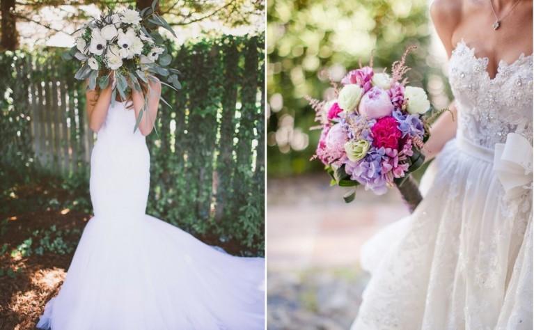 Jak dopasować bukiet do sukni ślubnej?