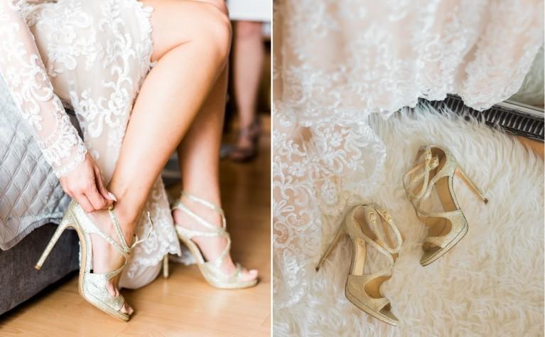 24 prawdziwe panny młode i ich ślubne buciki