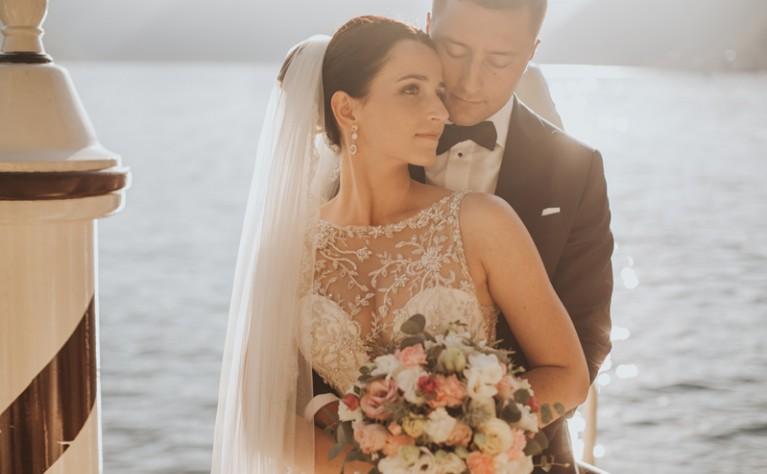 JUSTYNA & KRZYSIEK - włoska sesja ślubna  VILLA BALBIANELLO, fotografia: MALACHITE MEADOW