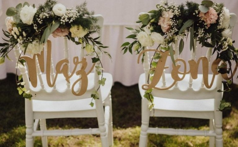 22 sposoby, aby zaprezentować Wasze inicjały w trakcie ślubu i wesela