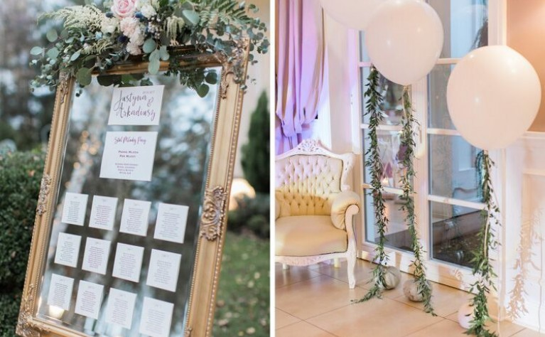 6 najnowszych motywów przewodnich na wesele