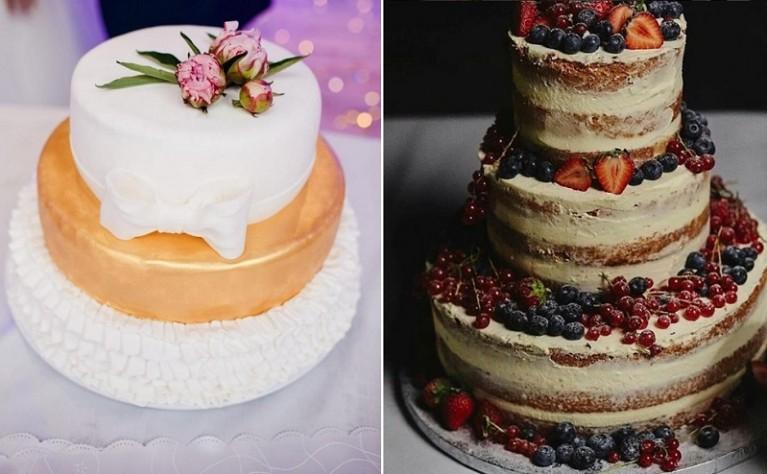 8 głównych błędów związanych z tortem weselnym