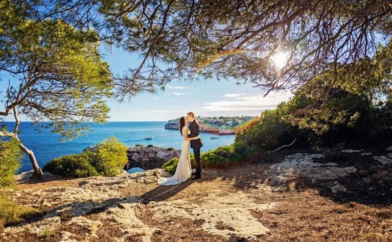 Filmowe plenery ślubne w Hiszpanii, produkcja Nano Works