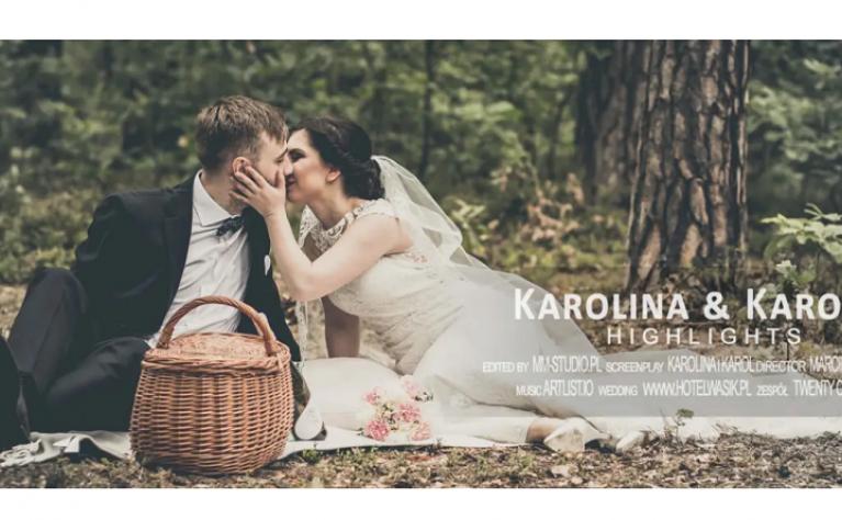 Karolina i Karol - klip ślubny, Produkcja:  MM-Studio
