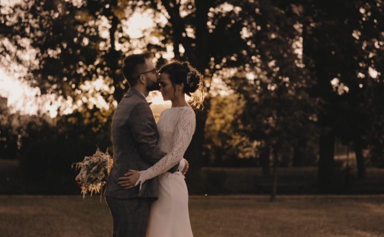 Marta i Michał w Pałacu Romantycznym - klip ślubny, Produkcja:  Dave Studio