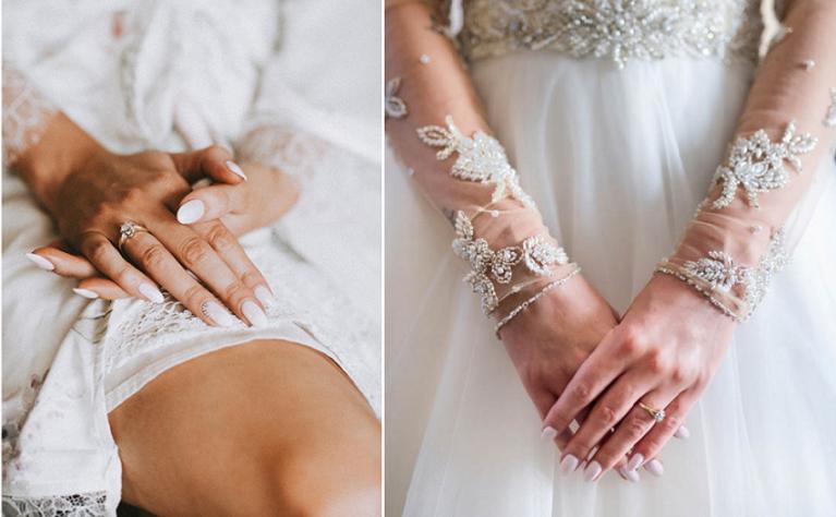 10 porad na idealny ślubny manicure