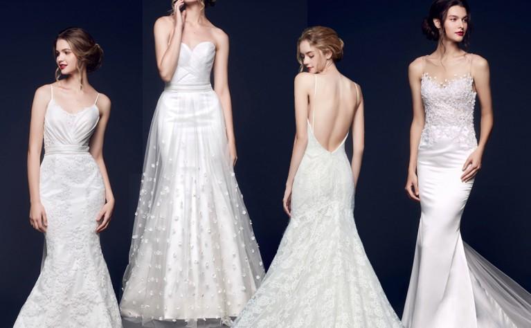 18 czarujących i prostych sukni ślubnych dla minimalistek