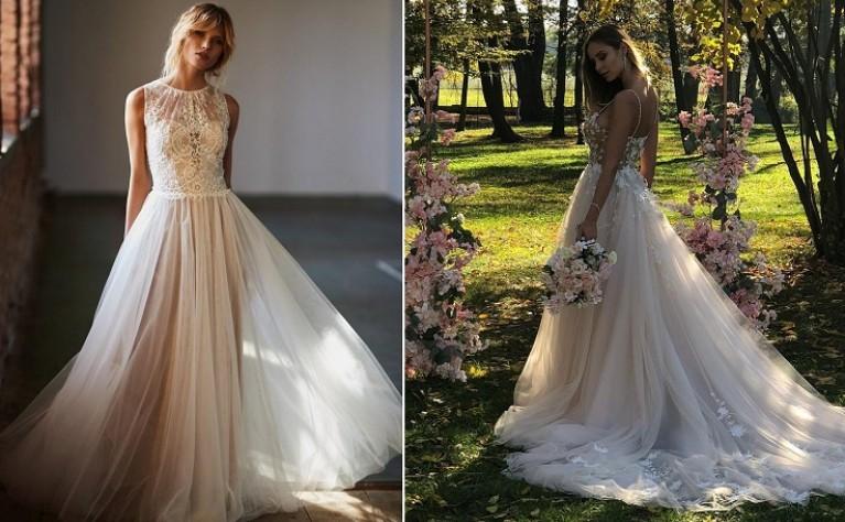 Najmodniejsze suknie ślubne na wiosnę