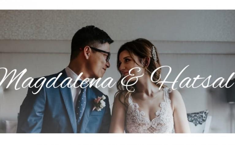 Magdalena & Hatsal - klip ślubny, Produkcja:  VISION MEDIA