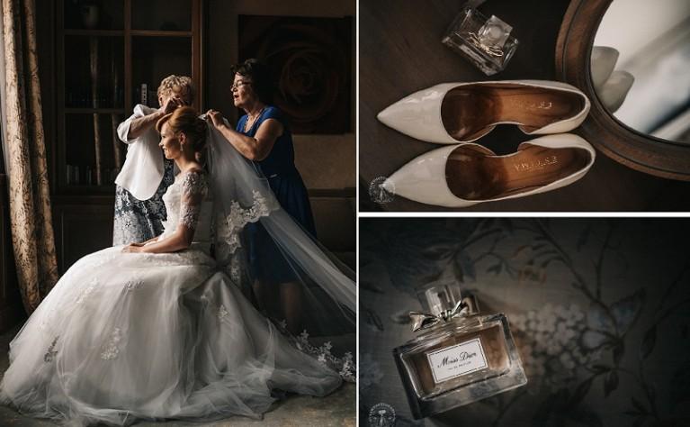 6 rzeczy, które każda panna młoda powinna mieć podczas przymiarek sukni ślubnej