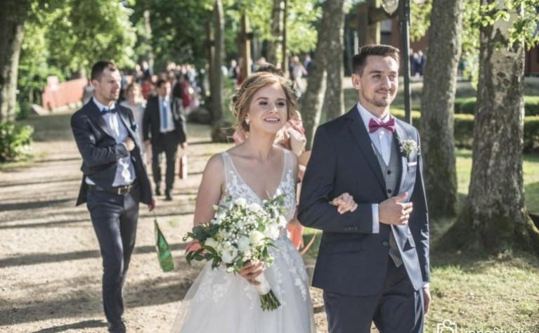Ania i Bartosz - klip ślubny, Produkcja: LipneStudio