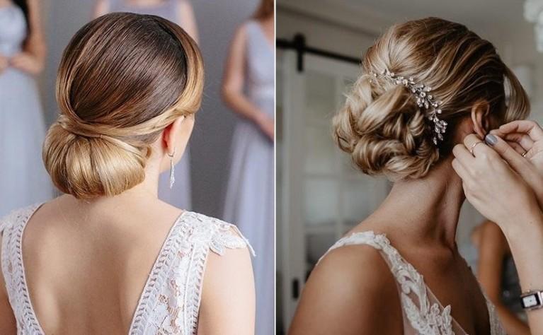 40 fryzur ślubnych w stylu glamour