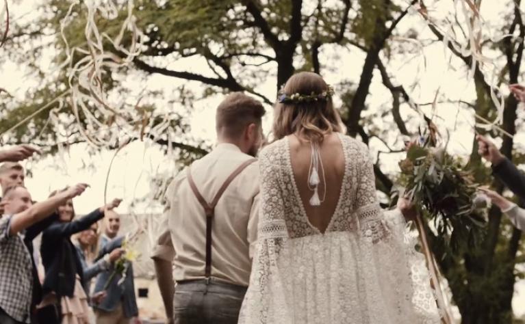 Boho ślub w stodole - klip ślubny, Produkcja: Alpaka Wedding Videography