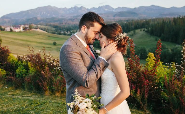 Ślub Plenerowy z widokiem na Tatry, Fotografia: KARETTA.PL