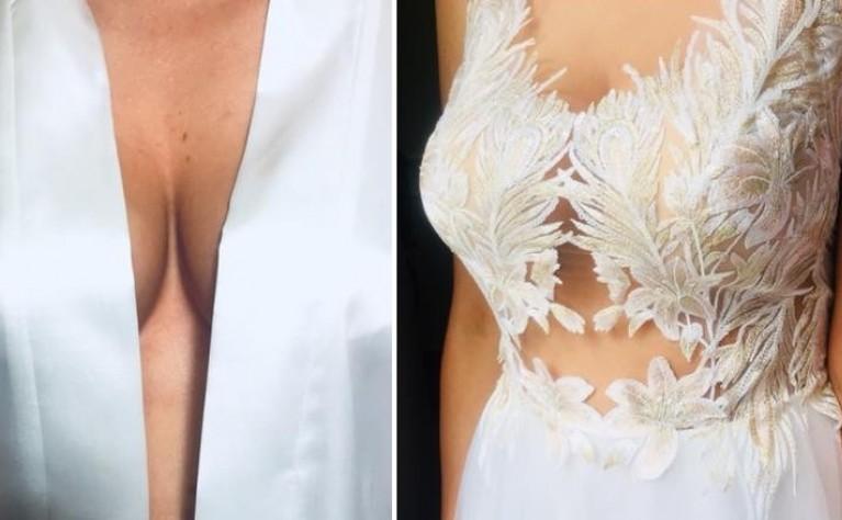 Wymarzony dekolt i odkryte plecy w sukni ślubnej?