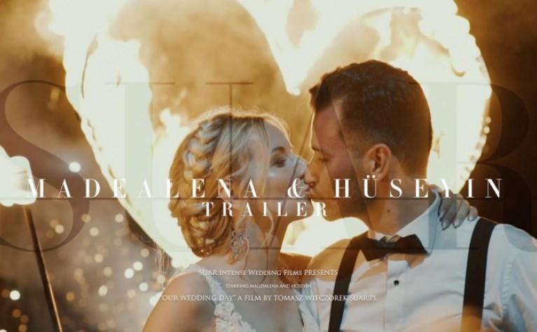 Magdalena & Hüseyin - klip ślubny, Produkcja: SUAR Intense Wedding Films