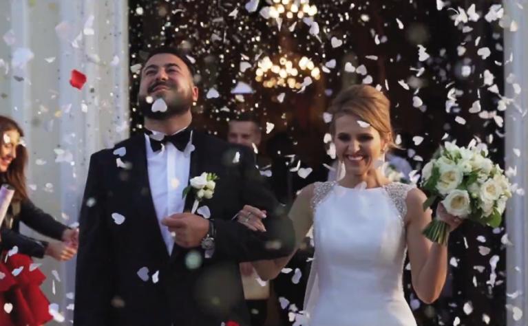 Sylwia & Łukasz - klip ślubny, Produkcja: Just Married Video