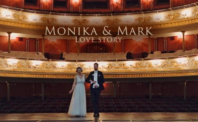 Monika i Mark klip plenerowy w Operze Wrocławskiej, Produkcja: PRO-AUTHOR