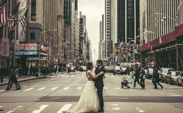 Michalina & Christopher - klip z Nowego Jorku, Produkcja: Kameralowe