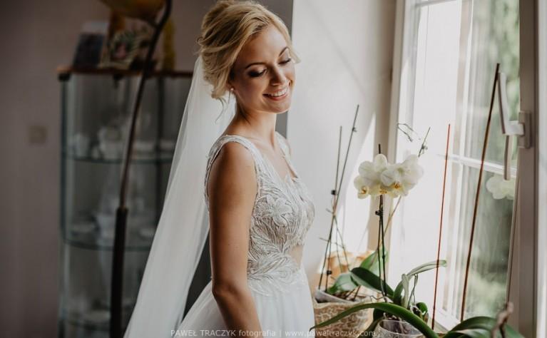 Suknie ślubne na ramiączkach