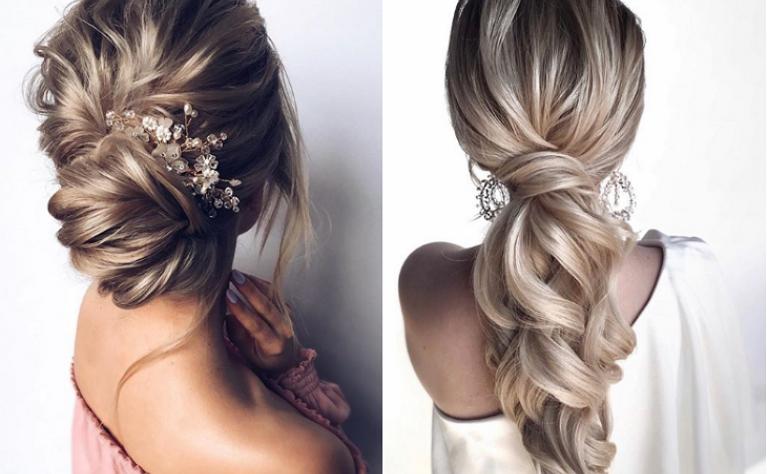35 najbardziej uwodzicielskich fryzur ślubnych dla panien młodych