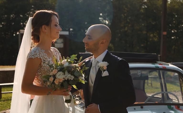 Polsko-włoski ślub w Przepitki Przekąski - klip ślubny, Connected Dots Photography