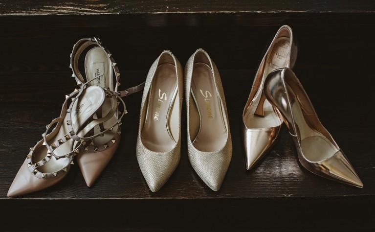 Buty dla panny młodej - najmodniejsze pantofle i szpilki z realnych ślubów