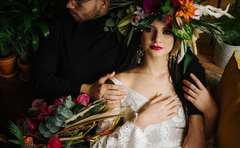 Jungle Vibes - sesja ślubna w stylu boho, MeLove