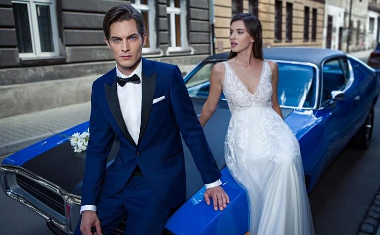 Jak bezpiecznie i szybko zamówić ślubny garnitur przez Internet?